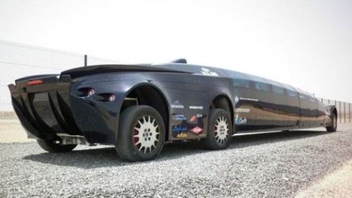 futuristic limo 8