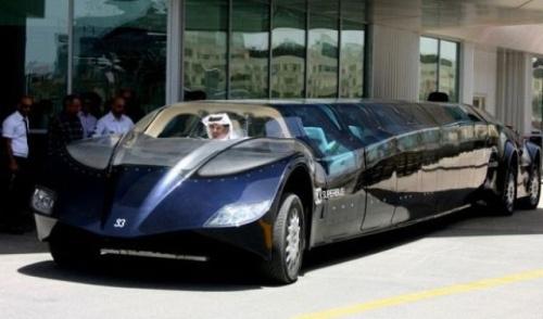 futuristic limo 9