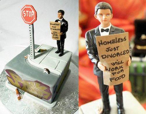 divorce Cakes 5