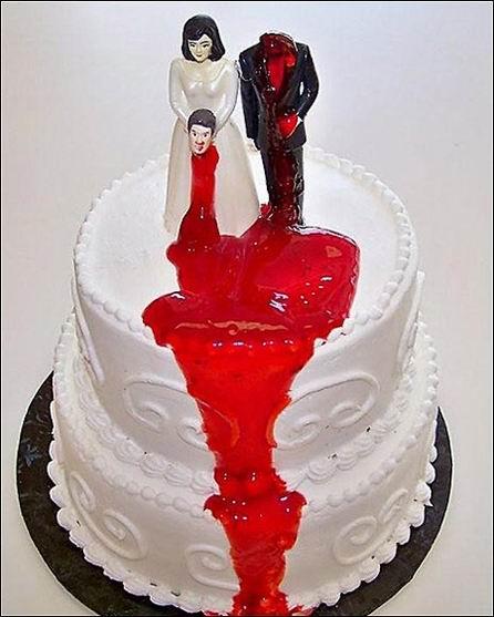divorce Cakes 7