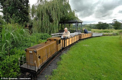pensioner loves train 2