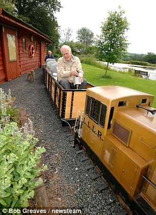 pensioner loves train 4