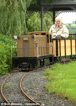 pensioner loves train 5