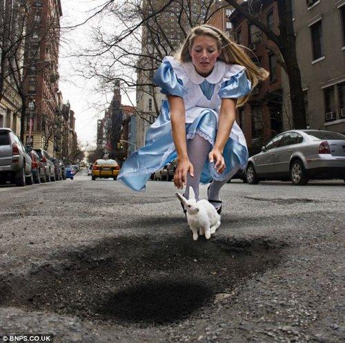 pothole art 10