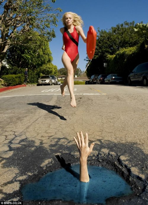 pothole art 2