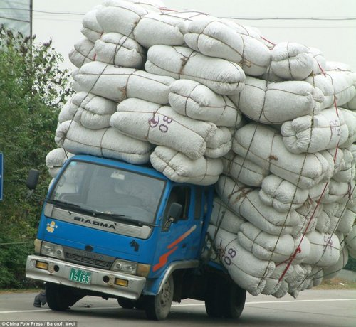 load transport in china 1