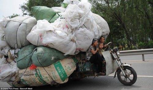 load transport in china 10