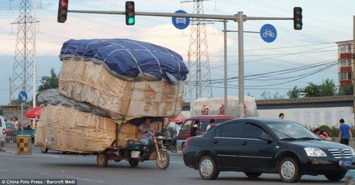 load transport in china 22