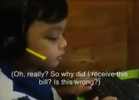 4 year old call center operator shows how it should be done
